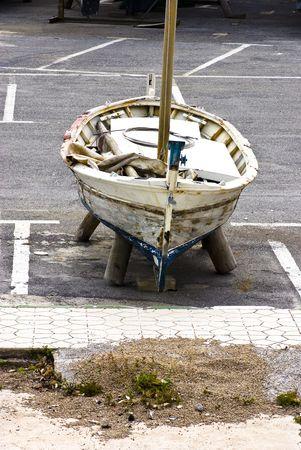 boat closeup photo