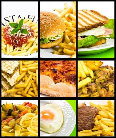 food collage Stock Photo - 5152089