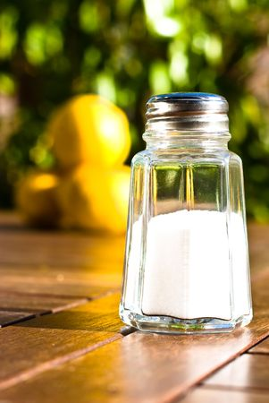 saltshaker on sunny day Stock Photo - 5152075