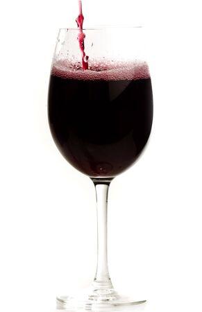 wine glass isolated photo