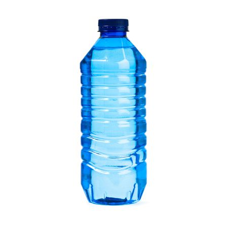 water bottle isolated photo