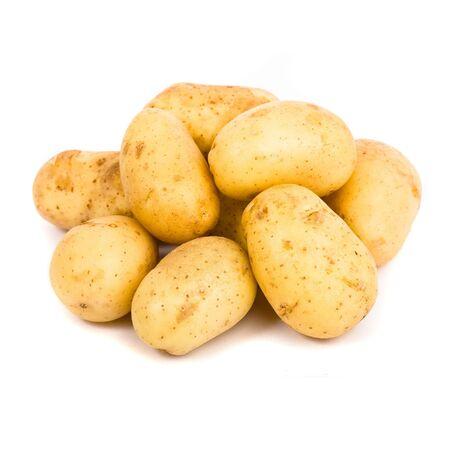 potatoes isolated photo