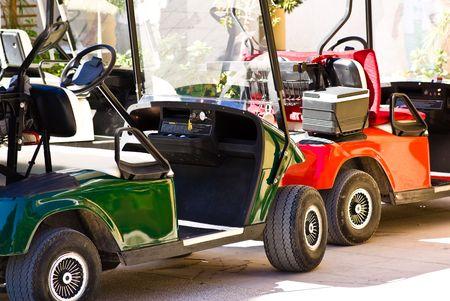 golf vehicles photo