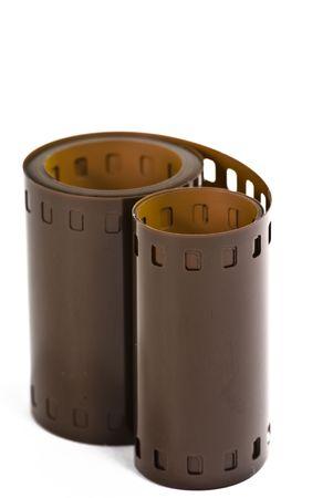 35: Pel�cula de 35 mm aislado