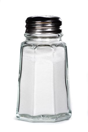 saltshaker isolated photo