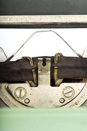 typewriter closeup photo