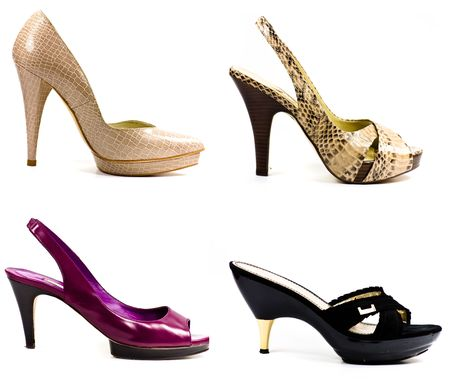 high heeled shoe collection photo
