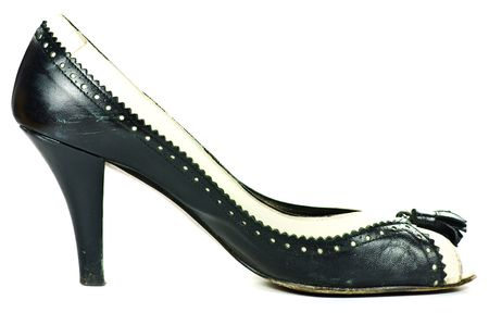 high heeled shoe: high heeled shoe isolated