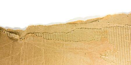cardboard piece isolated photo