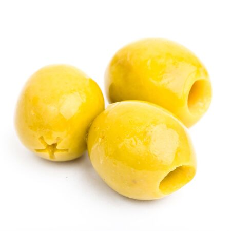 olives isolated photo