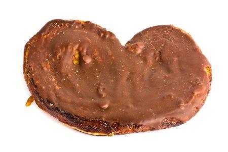 chocolate cake isolated photo