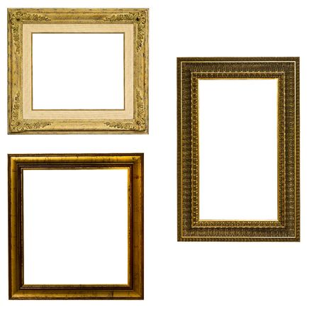 frames collection isolated Stock Photo