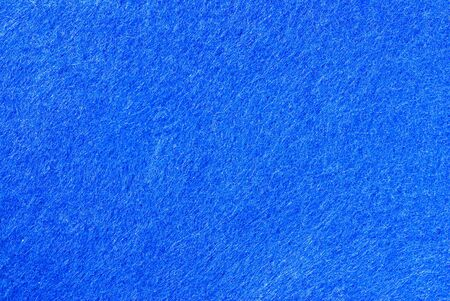 felt: blue skin