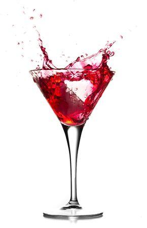 Cocktail splashing Stock Photo - 7714714