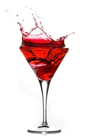 martini splash: cocktail