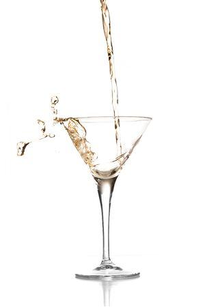 copa de martini: bienvenida c�ctel  Foto de archivo