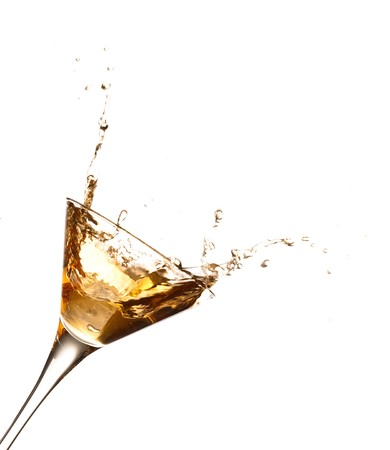 barman: cocktail splash