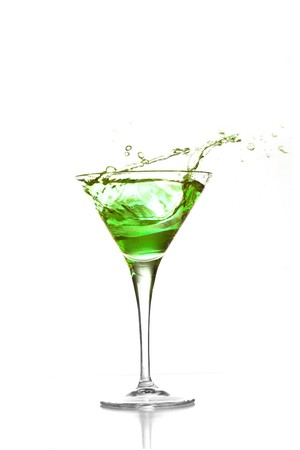 cocktail splash Stock Photo - 7787037
