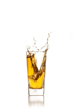 beverage splash photo