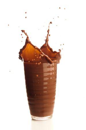 chocolade shake splash