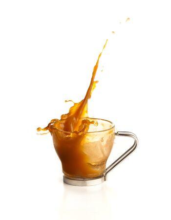 coffee splash photo