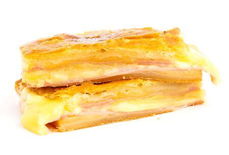 ham and cheese pastry photo
