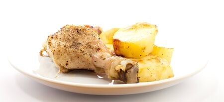 chicken with potatoes Stock Photo - 7787147