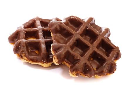chocolate waffle Stock Photo - 7787105