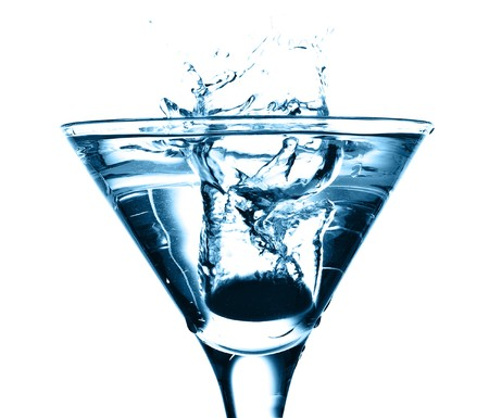 alcoholic: cocktail splash