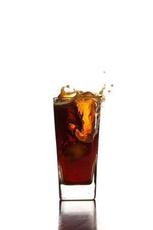beverage splash Stock Photo - 7892263