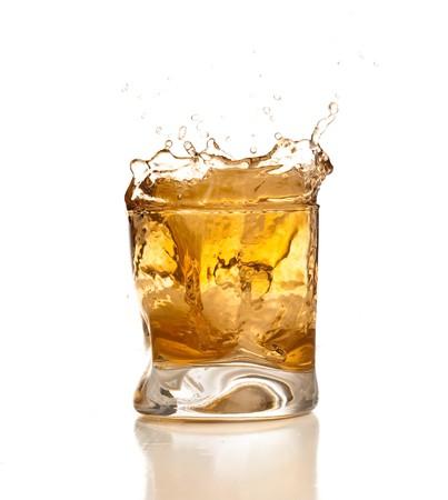whiskey splash Stock Photo - 7892242