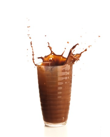 chocolate splash photo