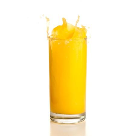 orange juice splash Stock Photo - 7892051