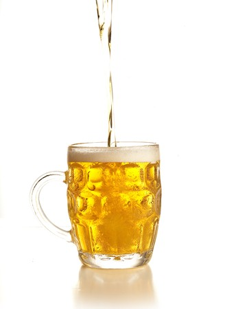 pouring beer Stock Photo - 7892439