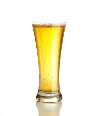 froth: beer Stock Photo