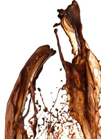 chocolate splash photo