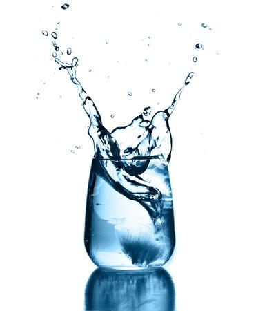 water splash photo