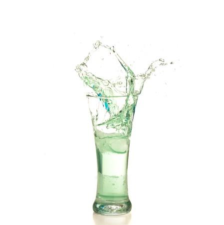 cocktail splash photo
