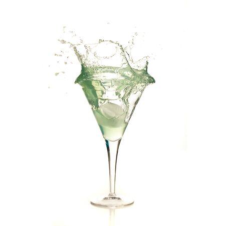 cocktail splash Stock Photo - 7892328