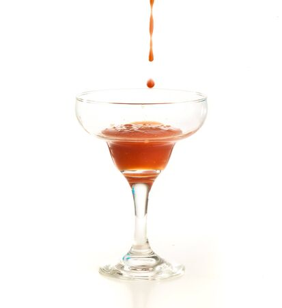 tomato cocktail splash Stock Photo - 7892067