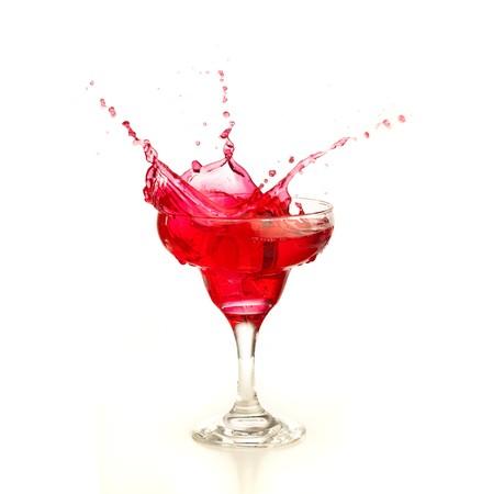 alcoholic beverage: cocktail splash