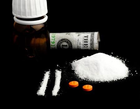 snort: drugs Stock Photo
