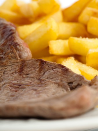 meat and chips photo