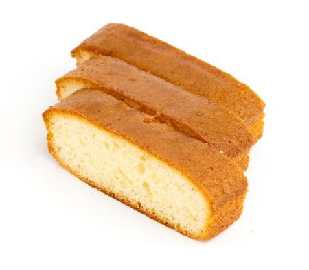 strawberry cake: sponge