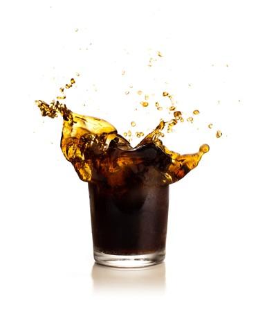 cola: beverage splash