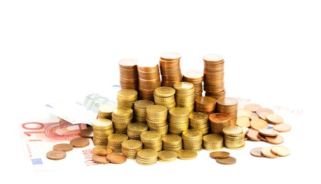 euro cents photo