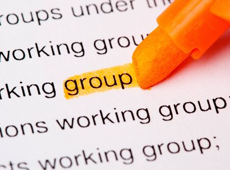 group word Stock Photo - 7892819