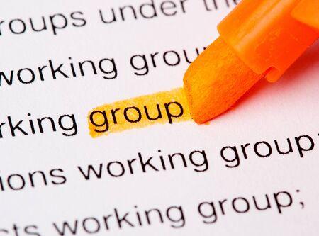 group word Stock Photo - 7892819