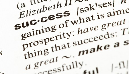success word photo