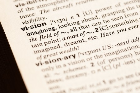 vision word Stock Photo - 7982749